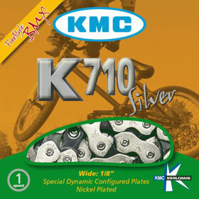 KMC K-710 Bicycle Chain silver